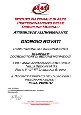 Giorgio Rovati EPK